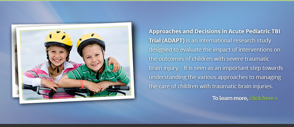 Approaches and Decisions in Acute Pediatric TBI Trial - ADAPT